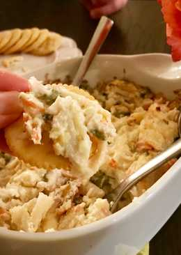 Hot Krab & Asparagus Dip