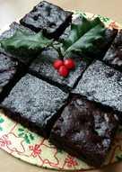 Vickys Christmas Brownies, GF DF EF SF NF