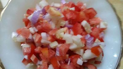 Colourful salad