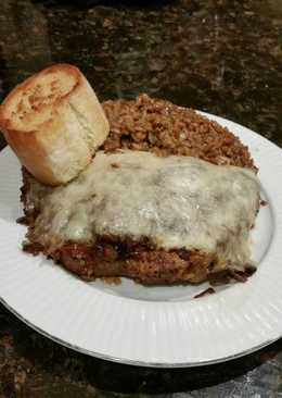 Brad's french onion pork chop bake