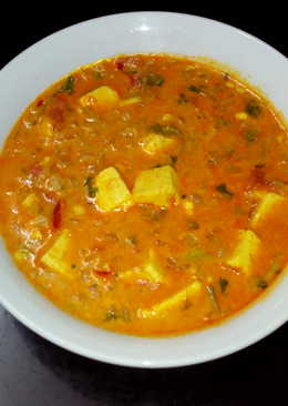 Paneer (cottage cheese) curry
