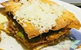 Leftover roti sandwich