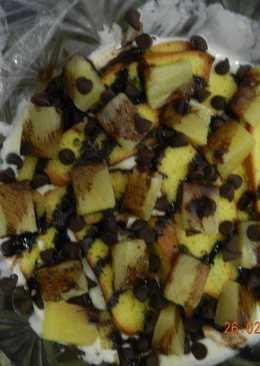 Pineapple Cream Trifle