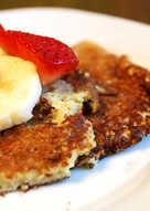 Flourless Pancakes With Banana and Eggs