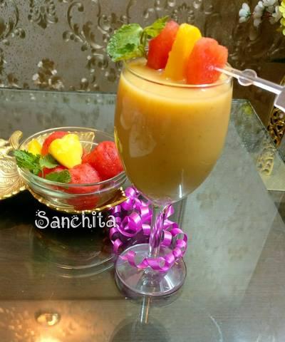 Mango Watermelon Smoothie