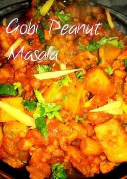 Aloo Gobi Peanut Masala