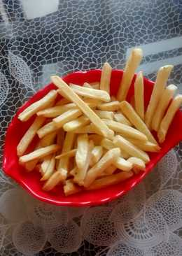 Healthy french fries without deep fry