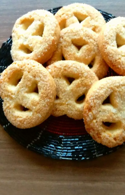 Eggless coconut cookie