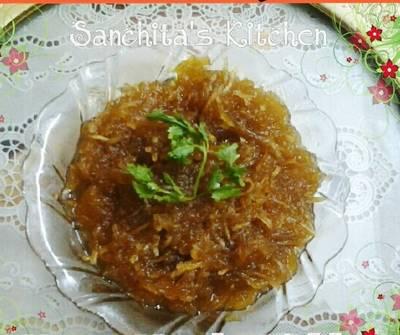 Raw Mango Meethi Chutney Pickle/ Chhunda