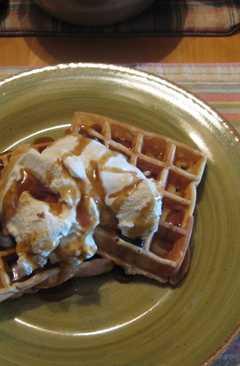 resep masakan american waffles