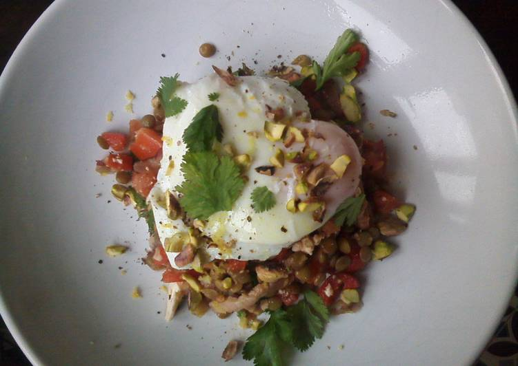 Superfood lentils salad
