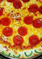 Jalapeno Popper Stuffed Crust Pizza