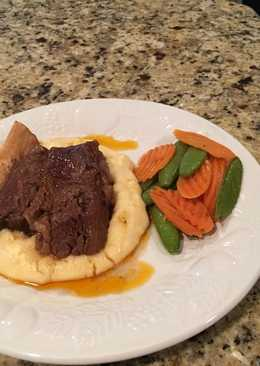 Beef Short Rib with Corn Whipped Potatoes