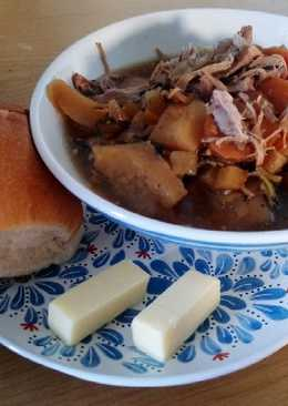 Welsh Cawl in Slow Cooker