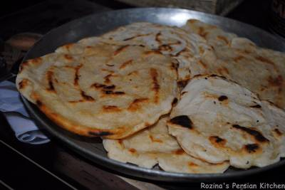 Pan fried Naan