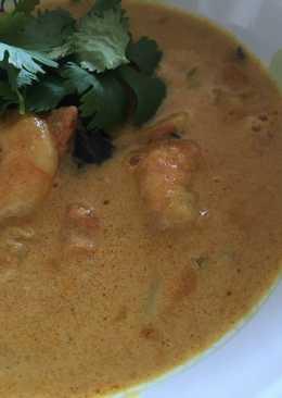 Prawn Curry (medium spicy)