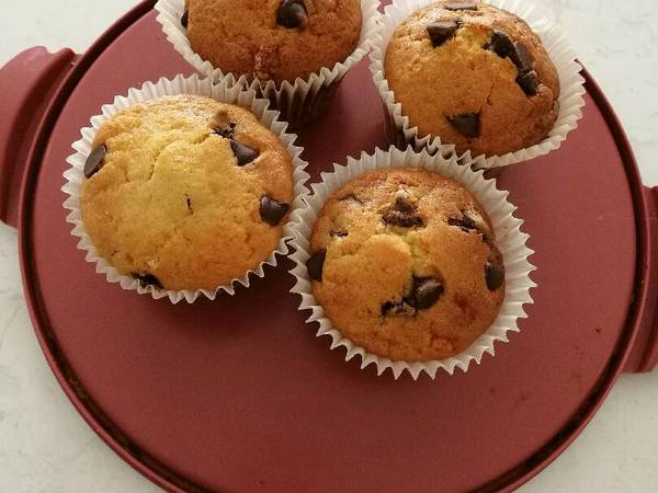 Bakery style muffins