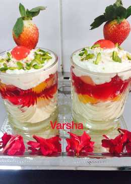 Fruits Jelly Pudding