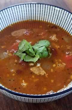 resep masakan spicy front street heat pork tenderloin soup