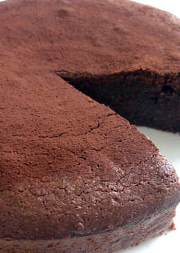 Super Easy 'Flourless' Chocolate Almond Cake