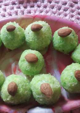 Easy tasty coconut petha laddu