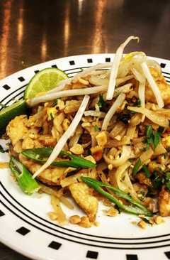resep masakan chicken pad thai