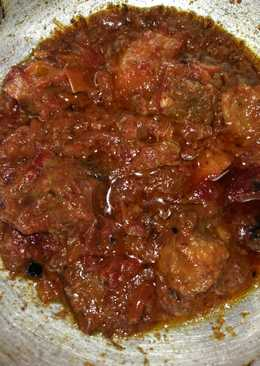 Beetroot mutton