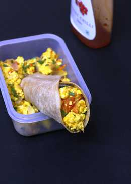 Paneer Disguise- Tiffin Roll