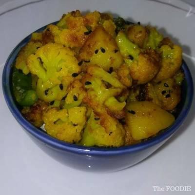 Aloo Gobi Recipe - Simple Aloo Gobi Bhaji