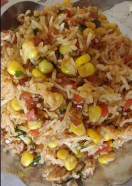 Leftover rice ka chinese makeover