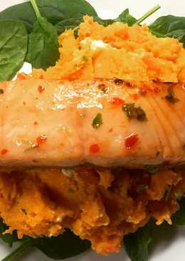 Sweet chilli salmon