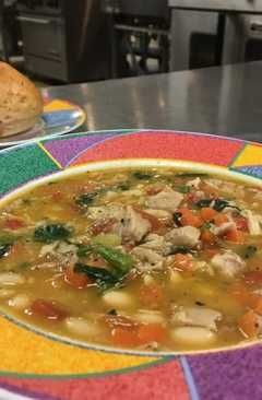 resep masakan italian chicken vegetable bean soup