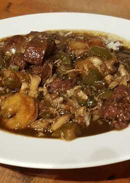 Sausage and Seafood Gumbo