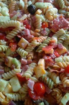 resep masakan italian pasta salad