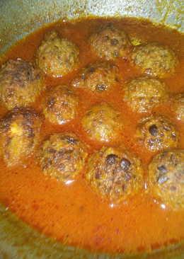 Peas kofta curry