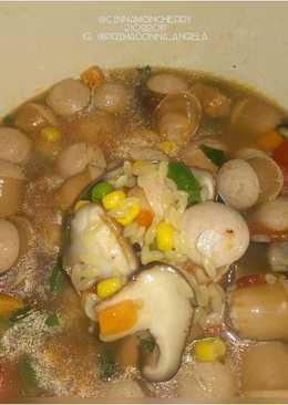 Sausage Soup with Orzo