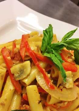 Sweet Italian Sausage Vegetable Ziti