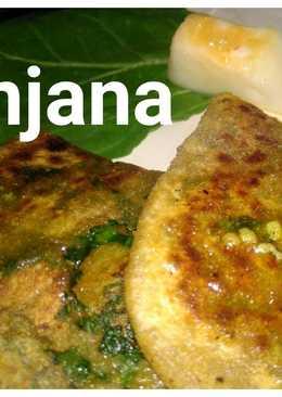 Spinach n pumpkin paratha