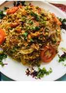 Vegetables Dum Biryani