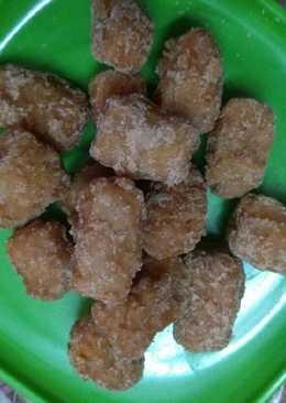 Bajra,wheat flour mix gur parra