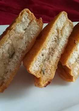 Simple bread pakoda