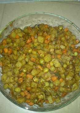 Mixed Vegetable Dry Curry