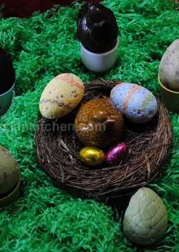 EasterBake Chocolate eggs