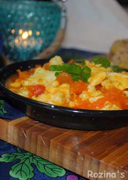 Persian tomato stew (pamador ghatogh)