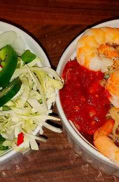 resep masakan mikes extra spicy thai shrimp noodle soup