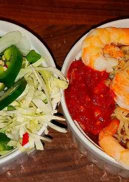 Mike's Extra Spicy Thai Shrimp Noodle Soup