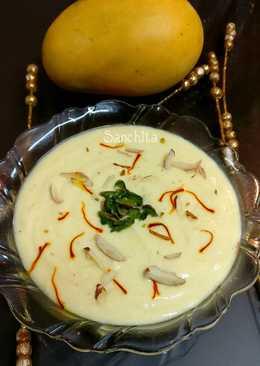 Aamrakhand or Mango Shrikhand