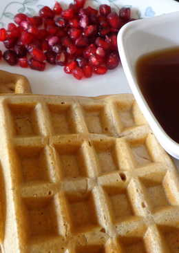 Whole wheat Cinnamon waffles