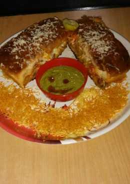 #Cheesy chat Toast