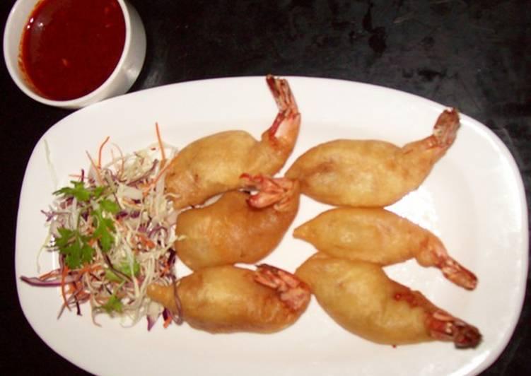 Golden Fried Jumbo Prawn